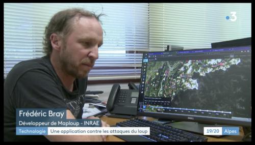 France 3 Alpes – Présentation de l'application Maploup