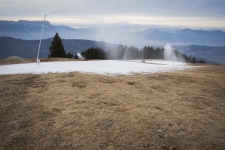 Quels effets du changement climatique sur les investissements liés à la neige de culture ?
